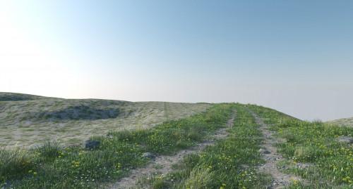 Создание рельефа в 3DsMax